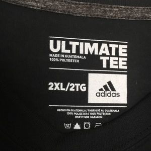 adidas Shirts - ADIDAS Black LAFC Long Sleeved Athletic T-Shirt